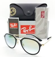NEW Rayban sunglasses RB4253 6052Y0 50mm Black Gold Flash Gradient GENUINE 4253