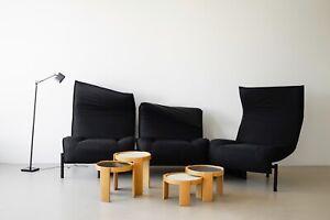 Veranda 3 Piece Sofa by Vico Magistretti for Cassina