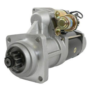 NEW 10T 12V STARTER FITS STERLING TRUCK LT8513 LT9500 CUMMINS ISB ENGINE 8200235