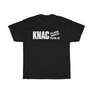 KNAC Vintage Heavy Hard Metal Rock Radio Station Men's Black T-Shirt, Size S-3XL