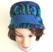 a3b6fb5d0fe Blue Velvet Vintage Hats for Women