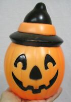 Vintage Empire HALLOWEEN Blow Mold Light Scarce Size JOL with Witch Hat 1995