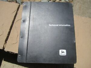 John Deere 401D Tractor Technical Manual