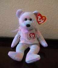 "Celebrate Bear ""ty 25 Y 00004000 ears"" Beanie Babies multi-color 2001 Nwt"
