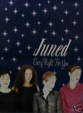 JUNED POSTER, EVERY NIGHT FOR YOU     (J7)