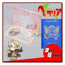Hetalia Passport Cosplay Notepad America