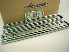 "1 Pair Accuride 9301 18"" to 22"" Drawer 500 lb Full Extension + 4"" Over-Extension"
