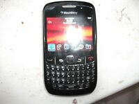 BlackBerry Curve 8520 - Black Vodafone Smartphone