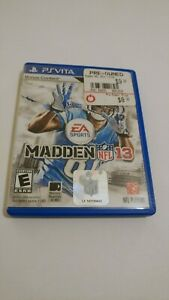 Madden NFL 13 Football Game (Sony PS Vita) ONLY AUTHENTIC CASE