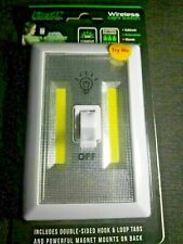Light Switch Portable Led Night Emergency Battery Light    NEW