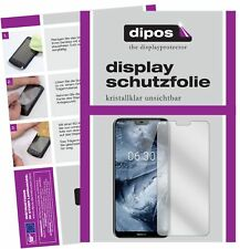 2x Nokia X6 2018 TA1099 Screen Protector Protection Crystal Clear dipos