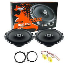 Hertz DCX 170.3 Kit Completo Casse Altoparlanti Anteriori = posteriori Alfa 147