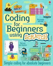Usborne Coding For Beginners Using Scratch Book - Children's Programming Book