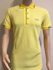 Men's Hugo Boss Short Sleeve Polo Shirt Yellow Size-XXL RRP £75