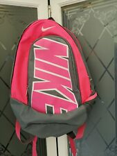"Grey And Pink Nike Rucksack - good condition 19"" x 15"""
