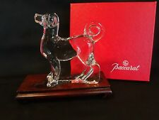 Baccarat Crystal Zodiac Collection - Akita Dog Figurine or Paperweight