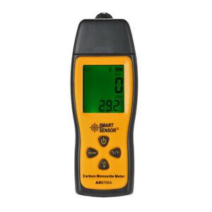 SMART SENSOR Carbon Monoxide Meter Detector CO Gas Tester Monitor 0-1000ppm