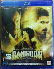 RANGOON BLU-RAY - 2017 HINDI MOVIE BLURAY / DOLBY ATMOS / REGION FREE / SHAHID