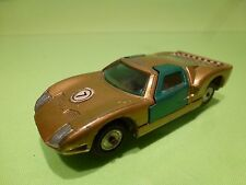 SABRA GAMDAKOOR ISRAEL 8104 FORD GT - GOLD COLOR 1:43 RARE - GOOD CONDITION