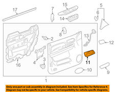 GM OEM-Interior Inside Door Handle Right 22855620