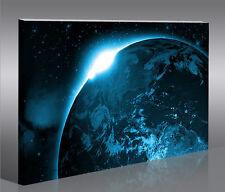 New Planet 1p Bild Top Bilder Weltall auf Leinwand Wandbild Poster