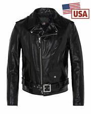 Blouson Schott perfecto us noir original 613sh made in USA