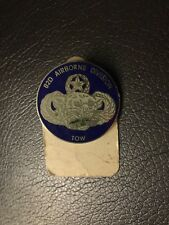 82nd Airborne Division TOW Pin Insignia