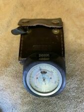Thommen Altimeter 19 jewels 21000ft with case
