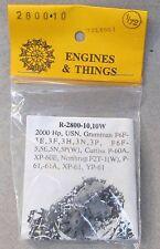 1/72 Engines & Things 2800-10 resin P&W USN; F6F-3/5; P-60A; XP-60E; et al. MINT