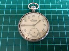 Minerva Pocket Watch. Engraved 965A - Possibly Military, Railway? German?