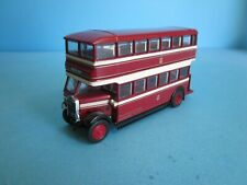 Gilbow Exclusive First Editions, Leyland TD1 Bus. Bolton Corporate Tram Livery