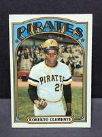 1972 Topps #309 Roberto Clemente EX Pittsburgh Pirates HOF