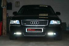 RAID DEVIL EYES avec chacune 5 HIGH POWER DEL Feux Diurnes Audi a8 ECE r87 autorisation