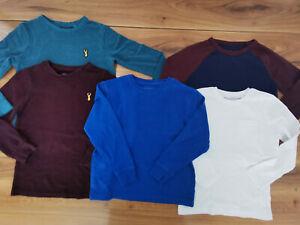boys 6-7 years long sleeve top bundle autumn winter NEXT M&S Gap