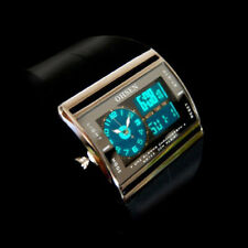 OHSEN Rubber Band 3ATM Water Resistant Military Digital Quartz Men Wrist Watch