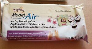 Model Air Clay 2.2lb White 715891722527
