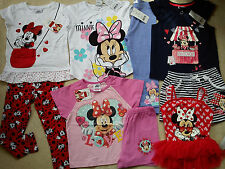 AMAZING MINNIE HOLIDAY SUMMER NEW BUNDLE OUTFITS GIRL CLOTHES 3/4 YRS(2.2)NR322