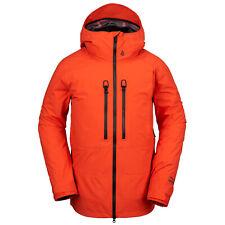 VOLCOM Mens 2020 Snowboard Snow GUIDE GORE-TEX JACKET Orange