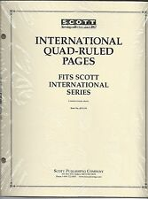 Pkg. of 20 SCOTT ACC131 International Quad-ruled Pages