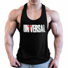 Gym Universal Men Muscle Sleeveless Tank Top Bodybuilding Fitness Workout Vest
