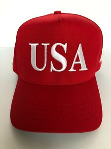 Official USA 45 Red Hat (Made in USA)