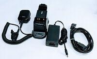 EF Johnson Ascend ES 5100 Rapid Battery Charger 585-5100-210 & Mic XTS3000/5000