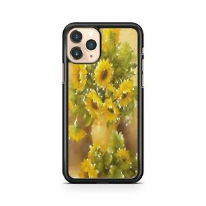 Twinkling Milky Way Star Covered Sunflowers Colourful Floral Phone Case Cover