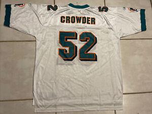 NWOT REEBOK Miami Dolphins Channing Crowder NFL Jersey Men's 2XL