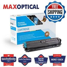 Max Optical For HP Compatible CE741A  Cyan Toner Cartridge