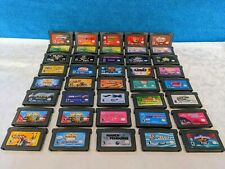 40 Nintendo Game Boy Advance Game Cartridges Lot - Tested & Working