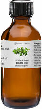 Thyme (White) Essential Oil - 4 oz - 100% Pure and Natural - Free Shipping