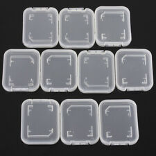 10 pcs SD Card Protect Plastic Case Holder,Jewel Cases,SDHC,SDXC Card Cases Mini