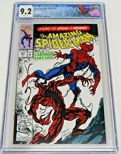 Amazing Spider-Man #361 Marvel Comics 4/92 CGC Graded 9.2 NM- White Pages