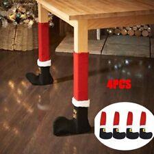 Décoration de table de planche de pied de patte de chaise de Noël pour fête Noël